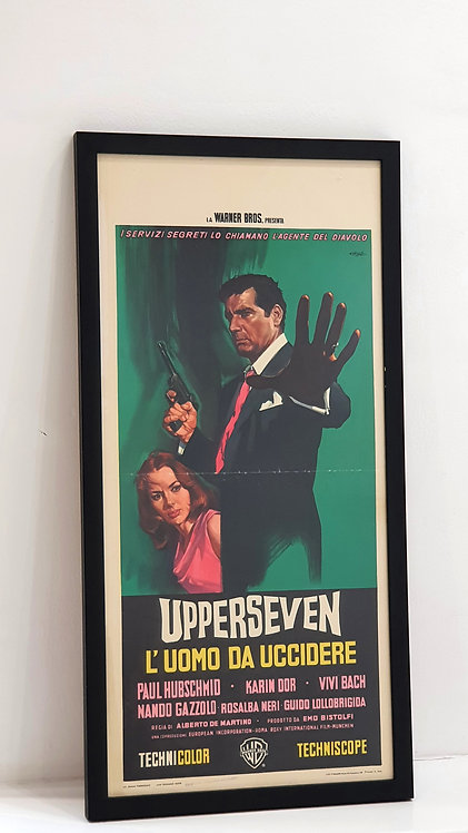 Upperseven L'uomo da uccidere (The Spy with Ten Faces)