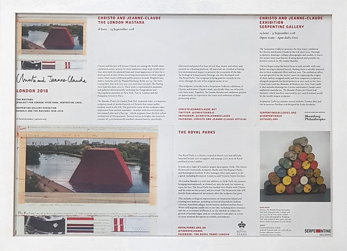 Christo and Jeanne-Claude - Barrels and the Mastaba 1958 - 2018 (3)