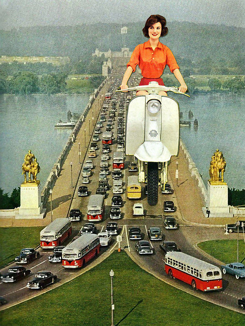 All the right turns (Eugenia Loli)