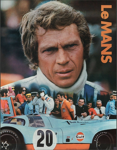 Le Mans Gulf Promo Poster