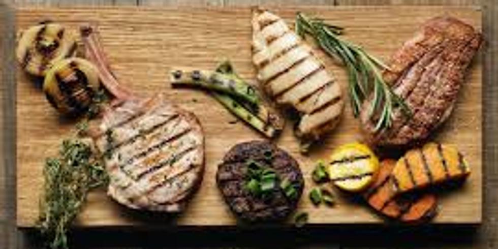 Grill selv - grillbakke a la Skovvang med salat.