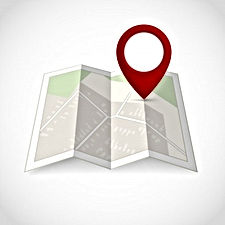 travel-road-street-map-with-location-pin