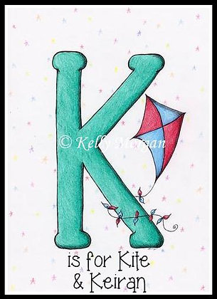 Alphabet print: K is for...