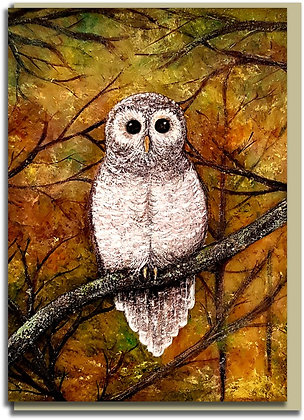 Eco Greetings card: Wol