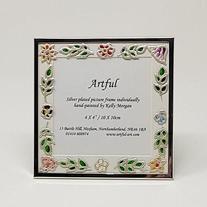 Square frame: Floral