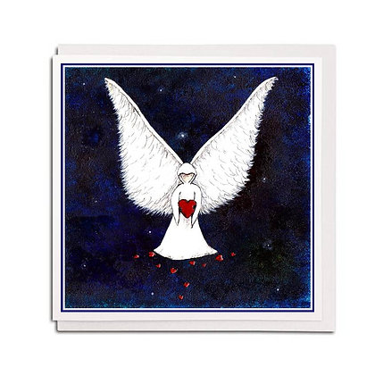 Greetings card: Angel ~ Wings of Love