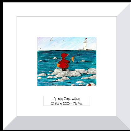 Red Hood print ~ Sunny Seaside