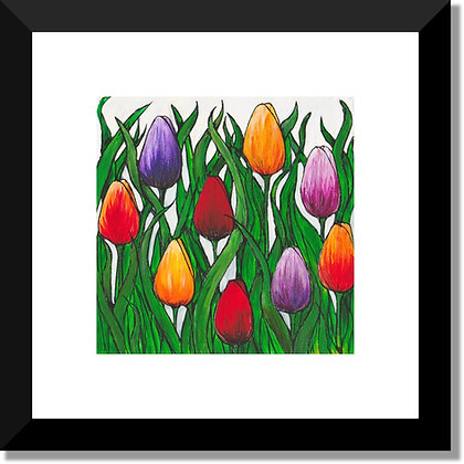 The Flower Collection: Tulip Field