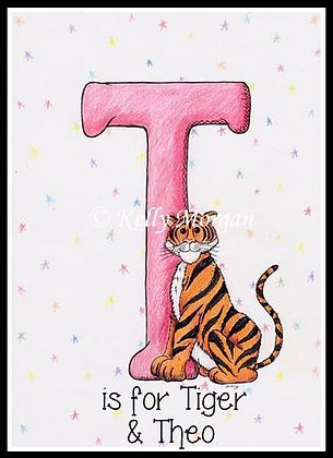 Alphabet print: T is for...