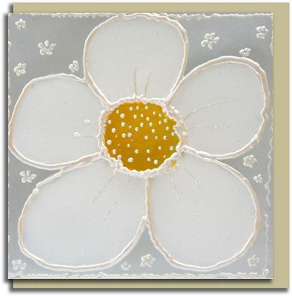 Eco Greetings card: Daisy