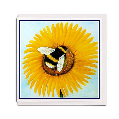 Greetings card: Bee Happy