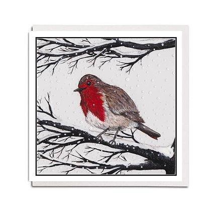 Christmas card: Traditional ~ Robin