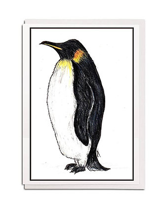 Christmas card: Traditional ~ Penguin