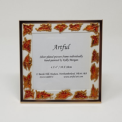 Square frame: Autumn