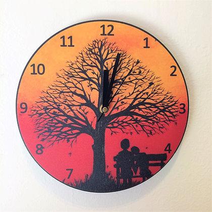 Clock: Falling