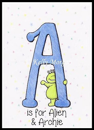 Alphabet print: A is for...