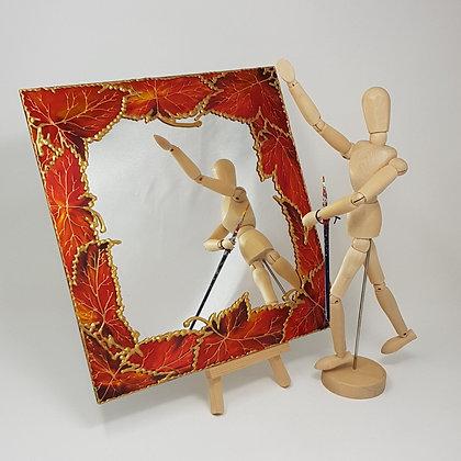 Square mirror: Autumn