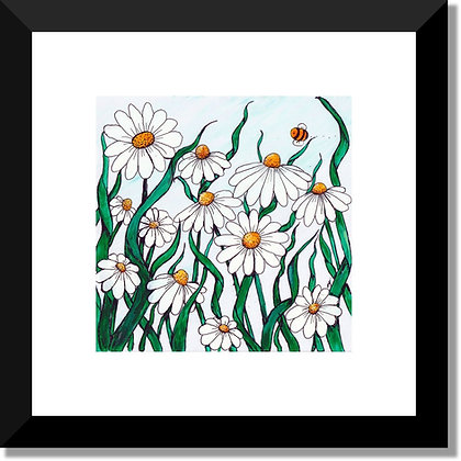 The Flower Collection: Daisy Field