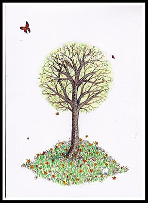 """""""A Tree For All Seasons: Spring"""""""