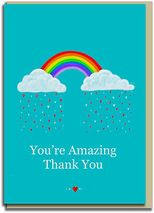 Eco Greetings card: Amazing You
