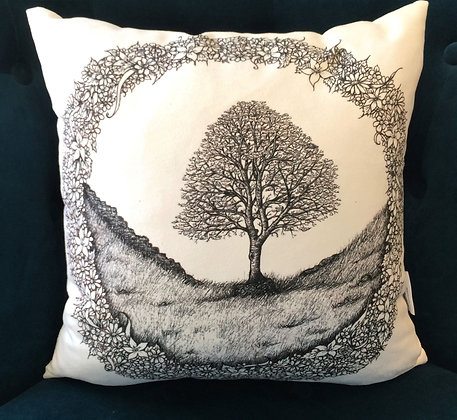 Cushion: Home ~ Sycamore Gap