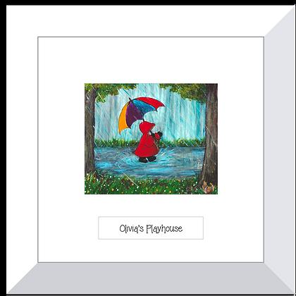 Red Hood print ~ Singin' in the Rain