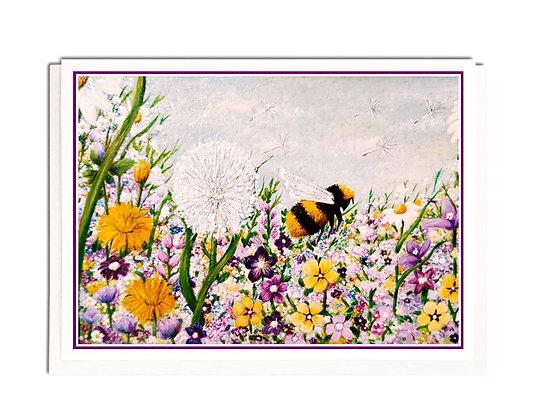 Greetings card: Bee a Dreamer