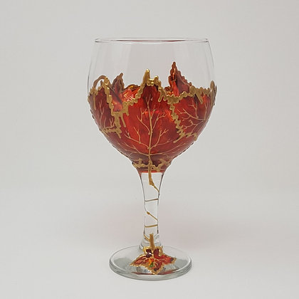 Gin glasses: Autumn