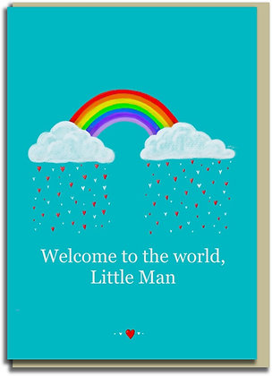 Eco Greetings card: Welcome, Little Man