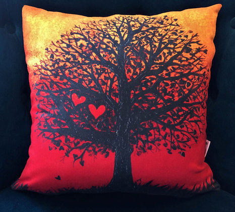 Cushion: Two Hearts