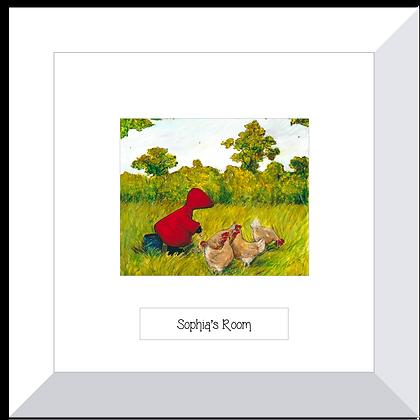 Red Hood print ~ Chick, Chick, Chicken