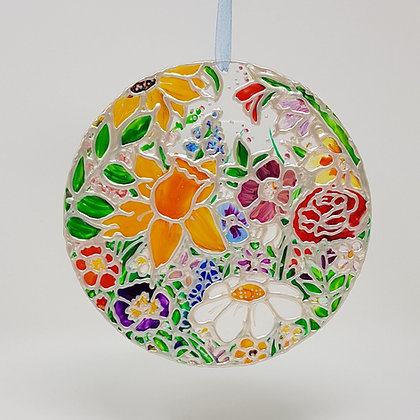 Large suncatcher: Floral