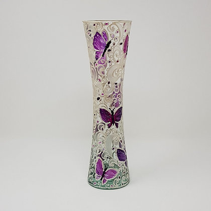 Flared vase: Butterfly
