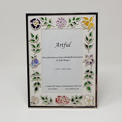 Portrait frame: Floral