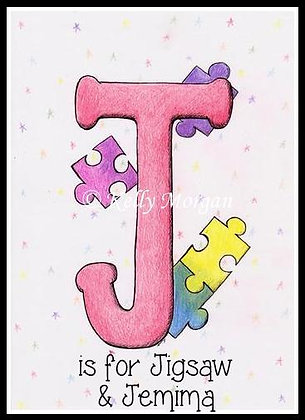 Alphabet print: J is for...
