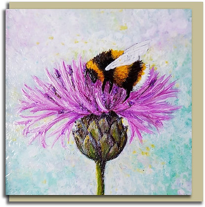 Eco Greetings card: Bee Tough