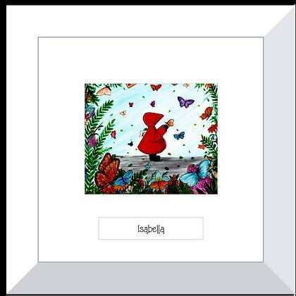 Red Hood print ~ Flutterby