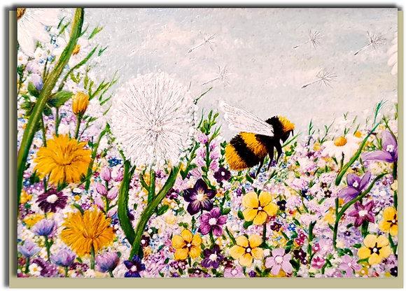 Eco Greetings card: Bee a Dreamer