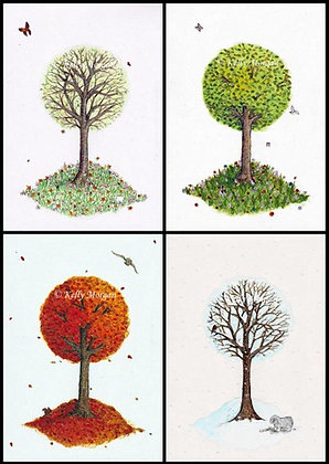 """""""A Tree For All Seasons"""" multiframe"""