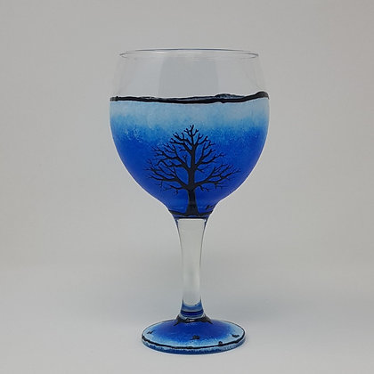 Gin glasses: Blue Tree