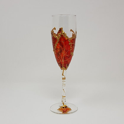 Champagne glasses: Autumn