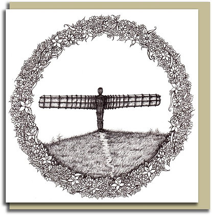 Eco Greetings card: Home ~ Angel of the North