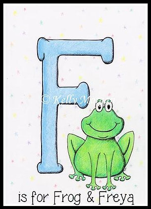 Alphabet print: F is for...