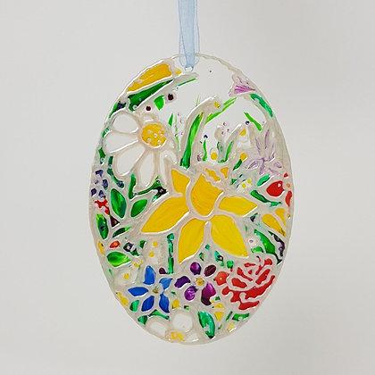 Standard suncatcher: Floral