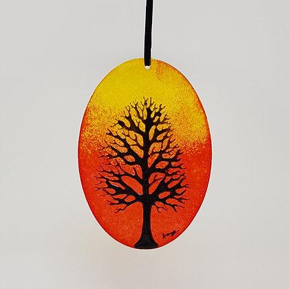 Standard suncatcher: Orange Tree