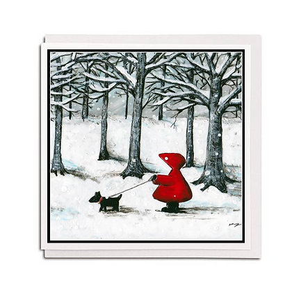 Greetings card: Red Hood ~ Best Friends