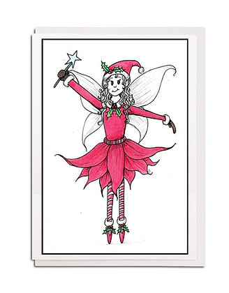 Christmas card: Traditional ~ Fairy