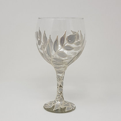Gin glasses: Silver Leaves