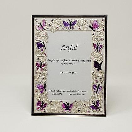 Portrait frame: Butterfly