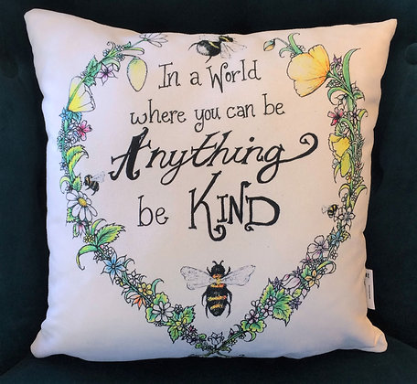 Cushion: Bee Kind